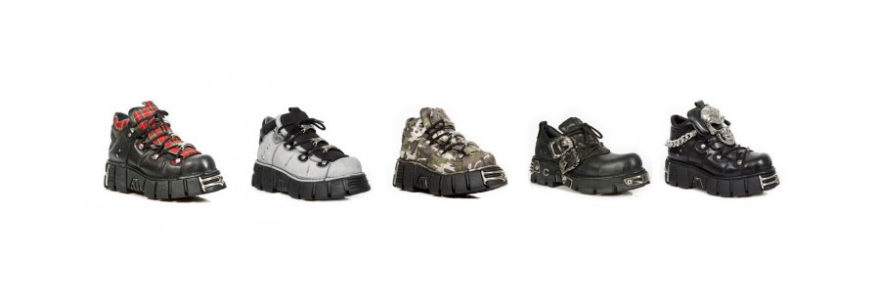 Chaussures compensées new rock